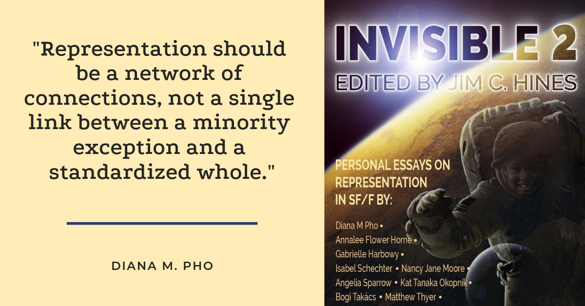 Invisible 2: Personal Essays on Representation in SFF